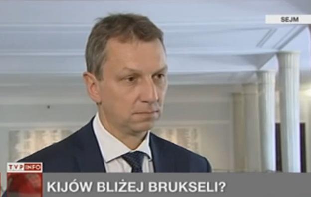 Andrzej Halicki w TVP INFO o Ukrainie, 15.05.2013