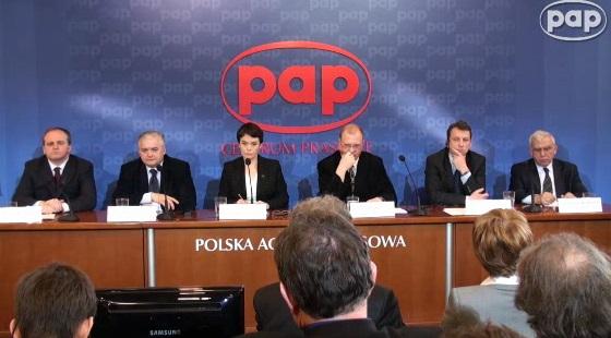 Szansa na przełom, debata w PAP